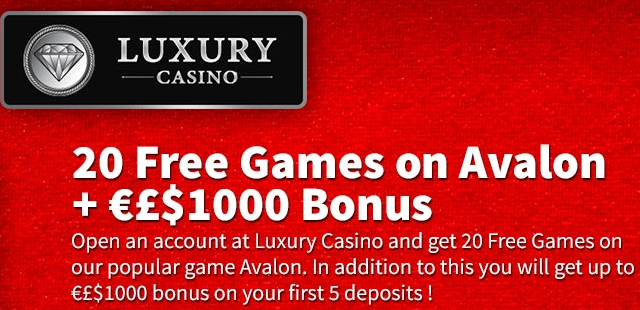 luxury casino free spins