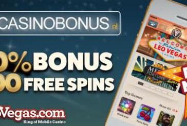 Nieuw casino: LeoVegas online!