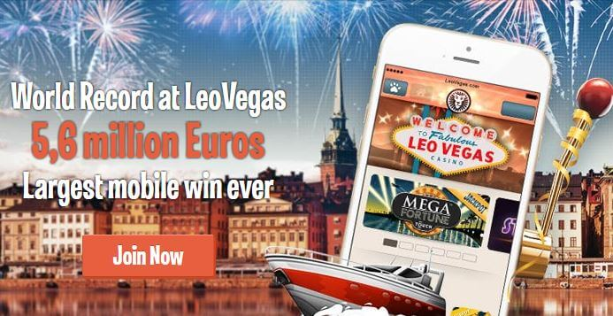leovegas mobile win