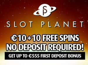 slot planet wecome offer