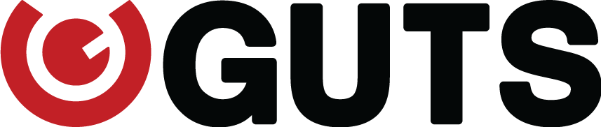guts logo white
