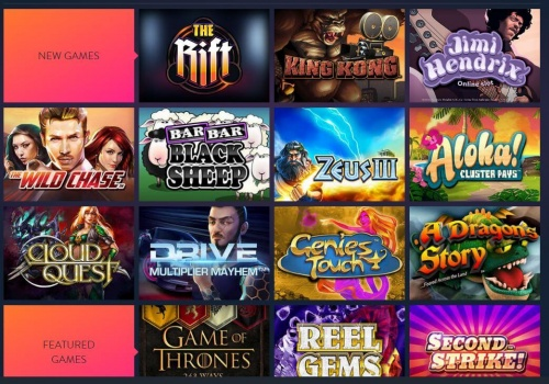 BetSpin games