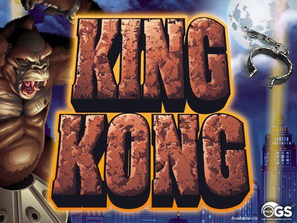 king kong gokkast