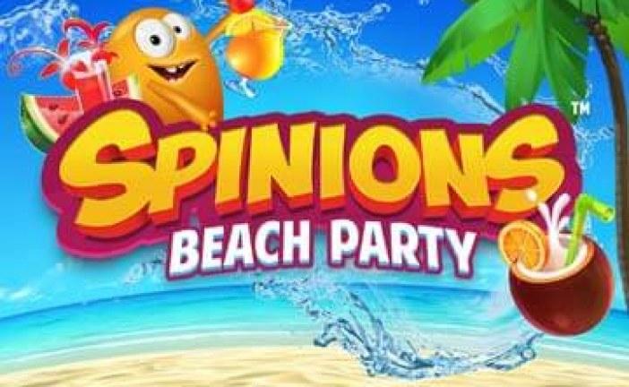 Spinions Beach Party – Nieuwe Gokkast Van Quickspin