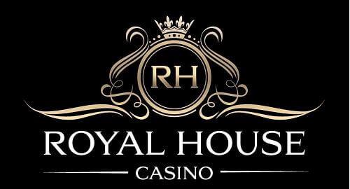 royal house casino logo black