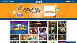 CasinoWilds Screenshot 1