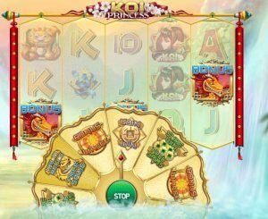 Bonus Wheel Koi Princess