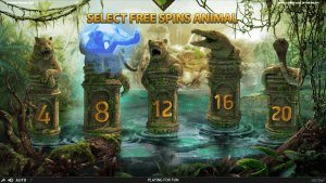 Jungle Spirit Free Spins Screenshot