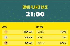 double prize pool race rizk emojiplanet
