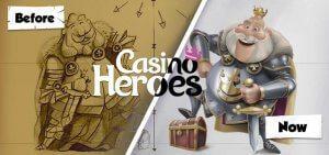 casino heroes evolutie