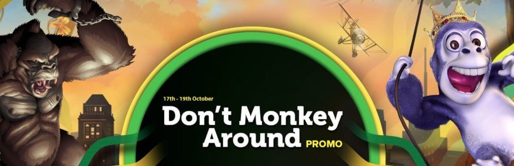 Don't Monkey Around Promotie Casinoluck