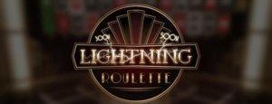 evolution gaming lightning roulette