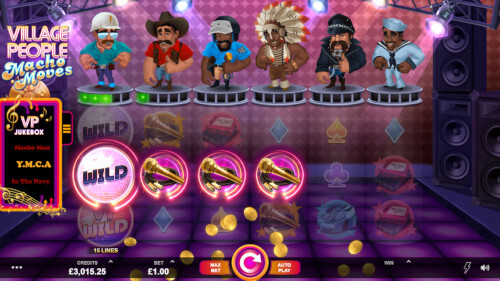 village people macho moves van microgaming