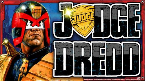 Judge Dredd Gokkast horizontaal logo