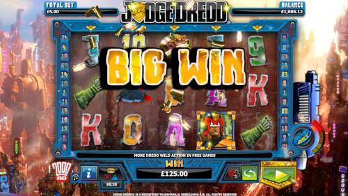Judge Dredd Gokkast big win
