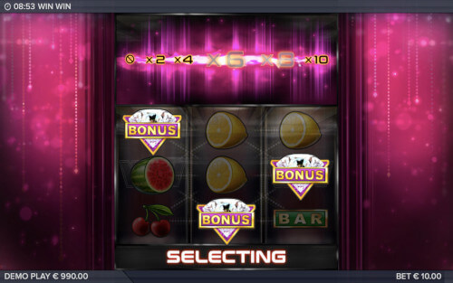 win win elk studios bonus selecting screen