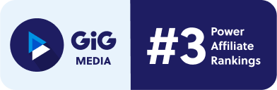 GiG media ranked number 3 in the EGR Power Affiliate ranking